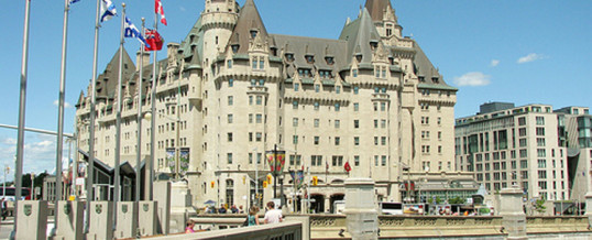 Liveforce to Secure Fairmont Chateau Laurier Hotel downtown Ottawa