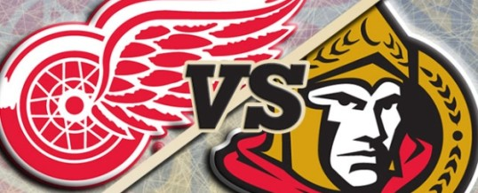 Free Tickets to the Ottawa Senators vs. Detroit Red Wings game